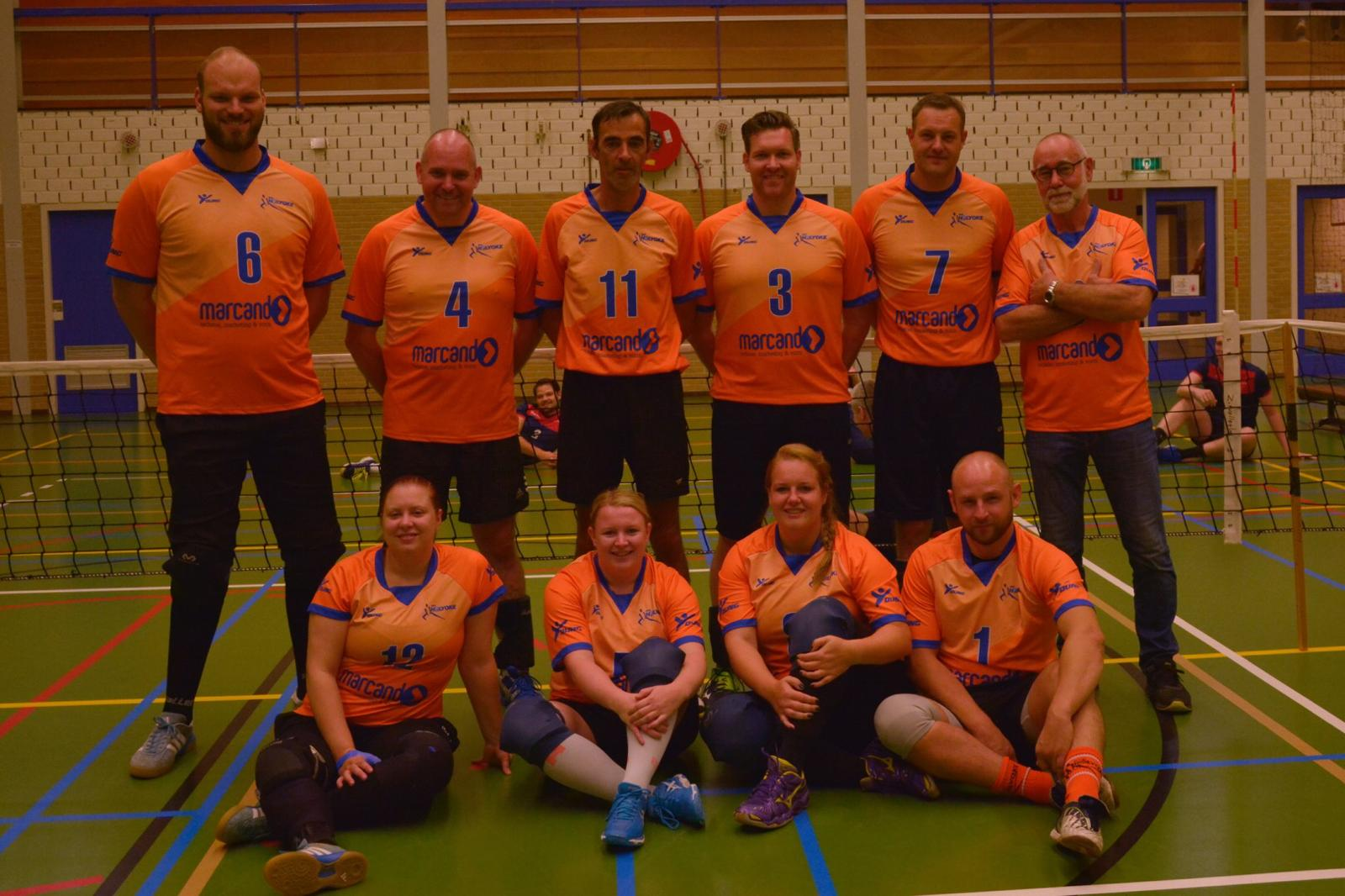 Zitvolleybal 1 2018 2019